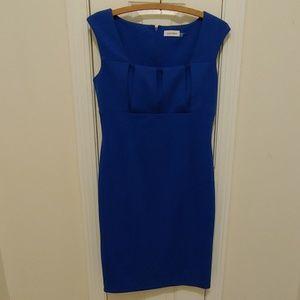 Calvin Klein royal blue dress size 8